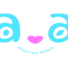 a ♥ a  -artists love animals 2013-